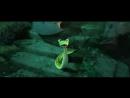 Момент из мультфильма Кунг-фу Панда 3 . Кай выносит неистовую пятерку