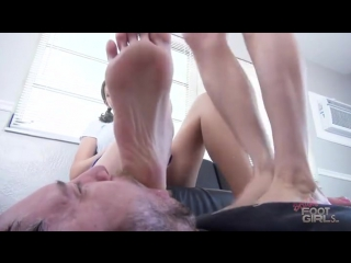 Orias & Vanessa's Cruel Foot Humiliation worship slave feet trampling licking fetish domination trample smelling