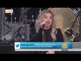 Келли Кларксон Kelly Clarkson - Love So Soft (The Today Show) телешоу Today 08 09 2017