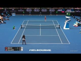 Australian Open 2017. Белинда Бенчич - Серена Уильямс