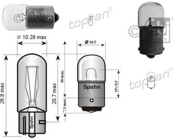 Лампа накаливания, задний гарабитный огонь для AUDI SUPER 90