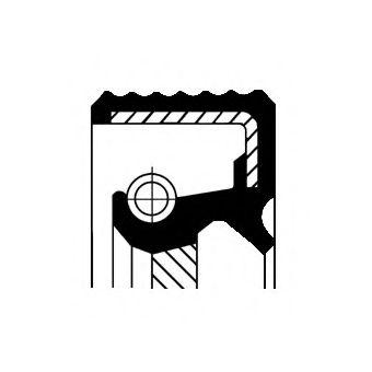 Уплотняющее кольцо, дифференциал для AUDI V8 (44_, 4C_)