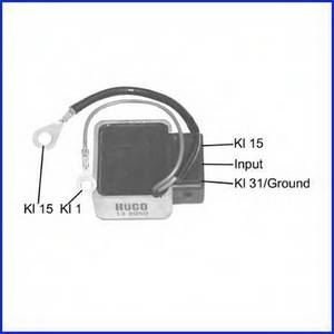 Блок управления, система зажигания для AUDI V8 (44_, 4C_)