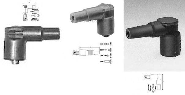 Вилка, распределитель зажигания для AUDI V8 (44_, 4C_)
