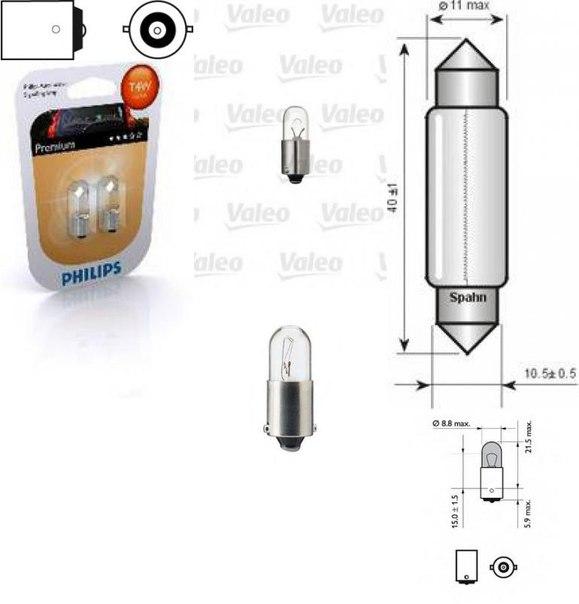 Лампа накаливания, внутренее освещение; Лампа накаливания, фонарь освещения багажника; Лампа накаливания для AUDI V8 (44_, 4C_)