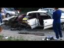Жесткая авария на Макаренко