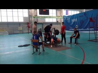 Абсолютное первенство по жиму, Воротынск, Зюзин, 167.5 кг, св 82