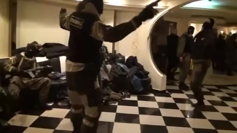 Танец спецназа видео думаю