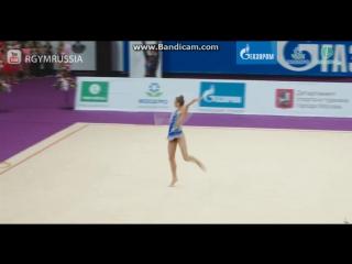 Александра Солдатова обруч (финал) - Гран-При Москва 2017