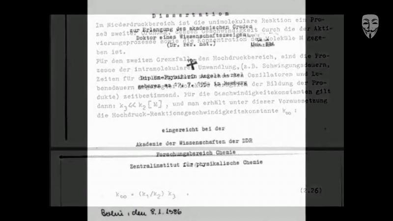 Merkel - Dreistes Plagiat - Betrug mit Doktorarbeit