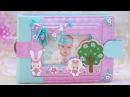 Интерактивный Pop Up альбом для девочки Скрапбукинг обзор