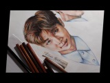 Rap Monster BTS The Brightest Star drawing (by Elena Martynyuk)