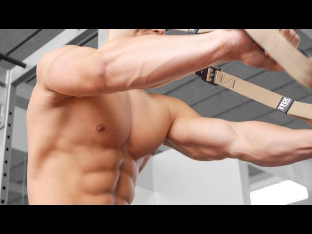 Упражнения на ПРЕСС с TRX Укрепляем глубокие мышцы кора