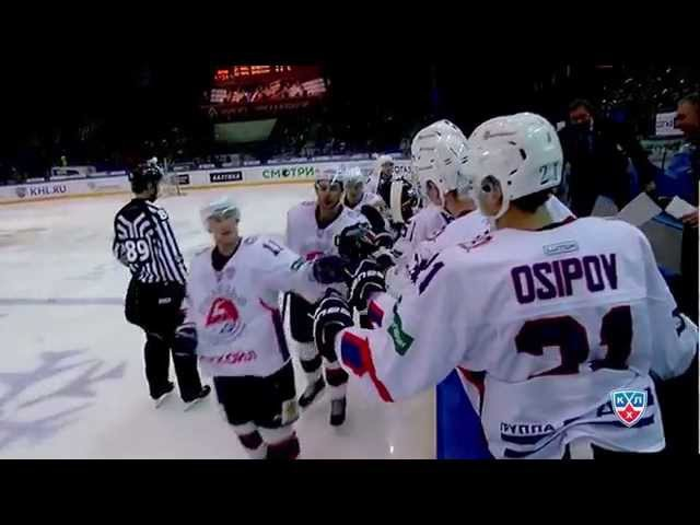Wolski tremendously sets the fastest KHL hat-trick record / Фантастический рекорд Войтека Вольски!