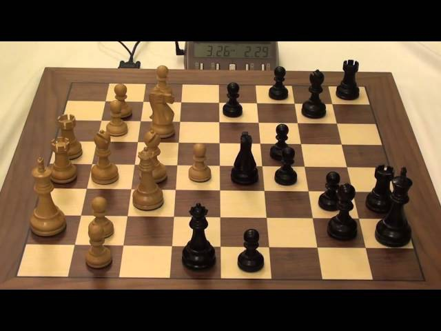 Blitz chess game- Arkadij Naiditsch(GER 2716)-Borki Predojevic(BIH 2617)