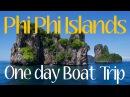 NICE SNORKELING IN PHI PHI ISLANDS: ONE DAY BOAT TRIP 4K