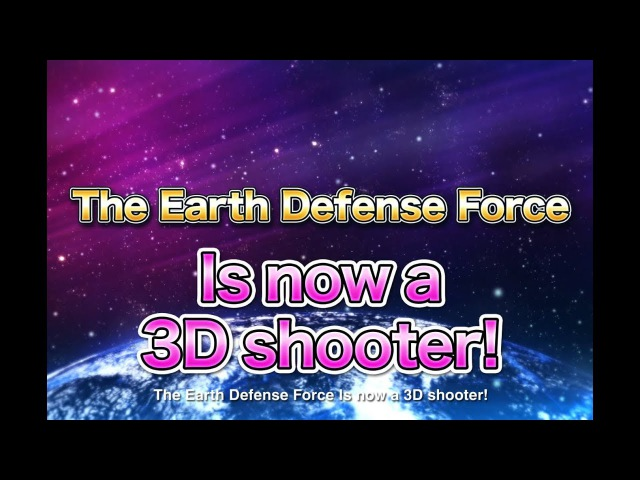PS4『EARTH DEFENSE FORCE 4.1 WINGDIVER THE SHOOTER』PV