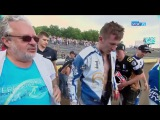 Crash Patryk Rolnicki 04.06.2017 (Unia Tarnow - Stal Rzeszow)