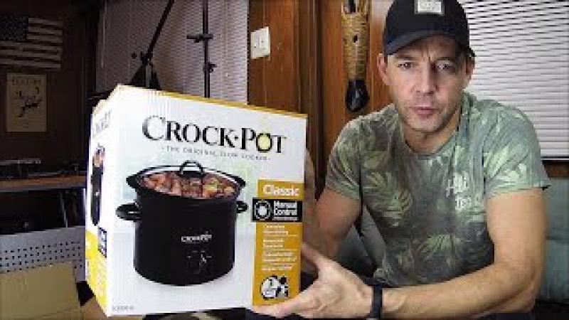 Слоукукер Крокпот Здоровое Питание (Crock-Pot Slow Cooker SCR300)