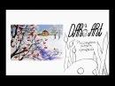 Для начинающих! Как нарисовать зиму гуашью! Dari_Art