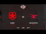 Gambit vs mousesports, inferno, PGL Major Krak