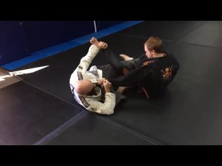 50/50 to arm bar with Jackson Word