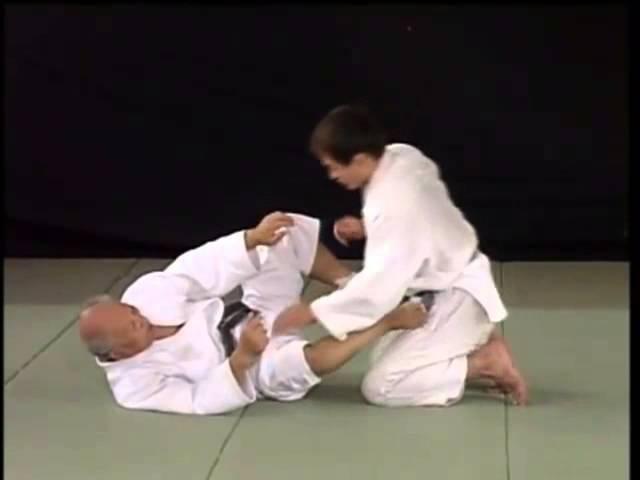 Hirata Sensei Kosen Judo Sankaku Jime