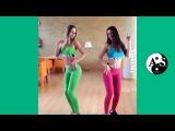 Две очень красивые девушки танцуют. Видео. Танец попой, задница, пьяные девки, танцует тверк
