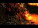 Dark Souls ptde SL1 Босс 6 Квилег Ведьма Хаоса с кольцом с красным камнем без лечения