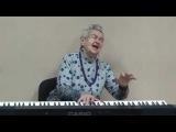 Людмила Лядова поёт свою песню 'Женщина' стихи В Лазарева