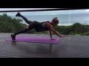 Los ejercicios de glúteos y abdomen de Elsa Pataky