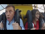 When the ride exceeded all expectations Когда аттракцион превзошел все ожидания
