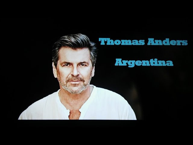 Thomas Anders - No more tears on the dance Floor
