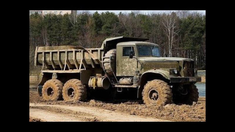Легендарные грузовики КРАЗ и Легендарная проходимость ✅ на Бездорожье KRAZ off-road 2