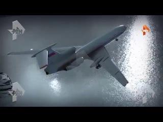 3D-реконструкция крушения Ту-154 под Сочи (со слов сотрудника береговой охраны пог ...