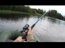 Рыбалка в Карелии Ловля щуки окуня подлещика на реке Суна 22 Июля 2017 г Часть 1