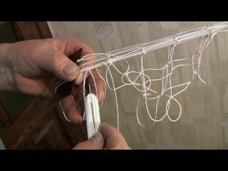Плетение сети по кругу