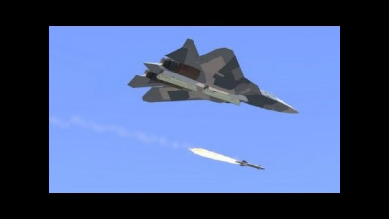 Russia's New 5th Generation Fighter Jet Tests New Anti Ship Missile
