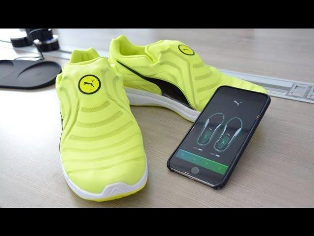 Компания PUMA выпустит самошнурующиеся кроссовки Puma Autodisc self-lacing shoes [TREND IVAN]