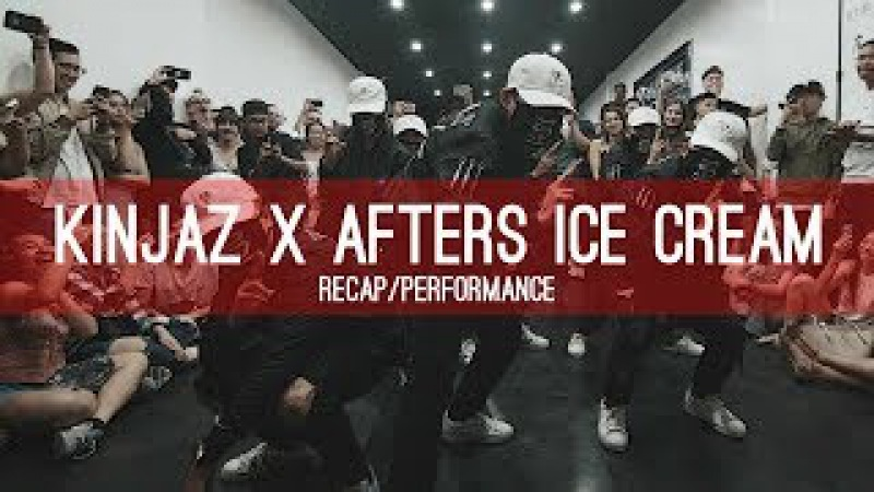 KINJAZ X AFTERS ICE CREAM | Recap/Performance