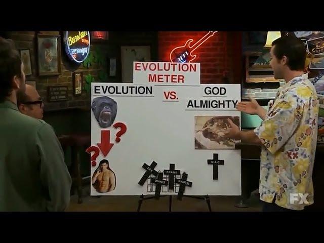 Эволюция - дерьмо. [В Филадельфии всегда солнечно]