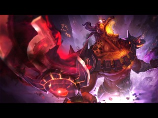 League of Legends INFERNAL NASUS Login Theme