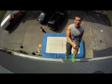 New Extreme Sport Trampoline Wall. Christophe Hamel Demo 2012