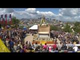 В Красноярске прошла церемония открытия первой буддийской ступы