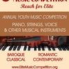 Elite International Music Competition 2017/2018
