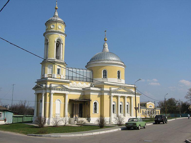 Достопримечательности Коломны: Крестовоздвиженская церковь