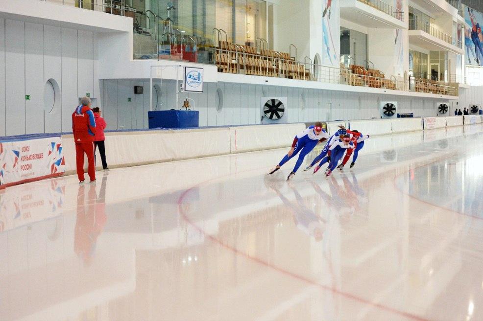 Ледовая арена Конькобежного центра «Коломна» – площадка для развития современных технологий в спорте