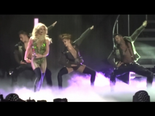 Britney Spears - Intro⁄Work Bitch - Live in HONG KONG (Asia World Expo Arena)