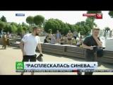 ВДВшник ударил журналиста НТВ в прямом эфире.