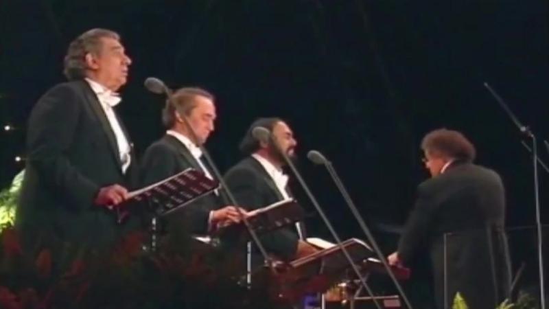 Пласидо Доминго, Хосе Каррерас, Лучано Паваротти.